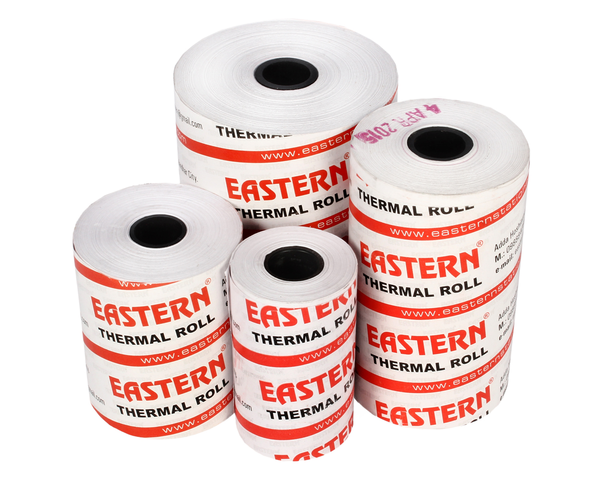 79 MM – 40 Mtr (Thick Paper) – Eastern POS Thermal Rolls
